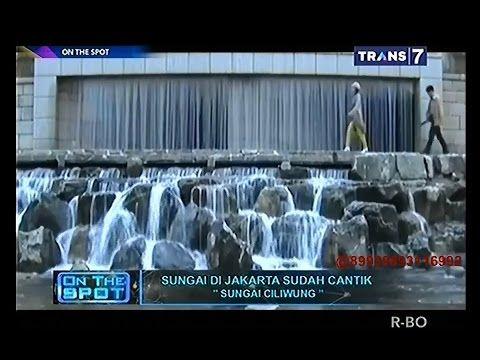 On The Spot - Sungai di Jakarta Sudah Cantik - YouTube