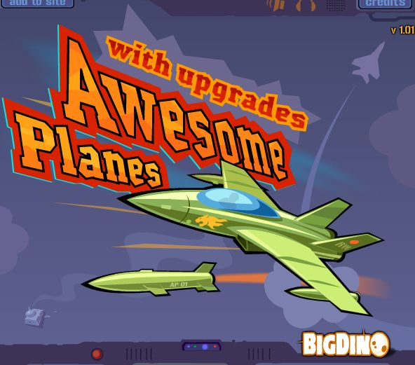 Awesome Planes 2 Hacked  In this game, You get to drive awesome airplanes and upgrade them with smart gadgets. Destroy aircraft, vehicles, and buildings to earn money and complete each level. Use your earnings to improve your plane's performance and unlock/upgrade weapons. Complete all 15 levels to unlock the survival mode! Upgrade your plane and cause maximum destruction!  Play at http://www.kizij.com/1-kizi-2015/awesome-planes-2-hacked