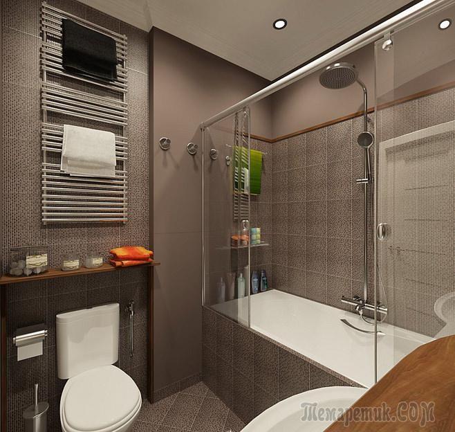 Небольшой размер помещения, отведенного под ванную комнату, не мешает оформить ее стильно и красиво. Оформление маленькой ванной может быть очень оригинальным, если правильно выбрать основную идею инт...