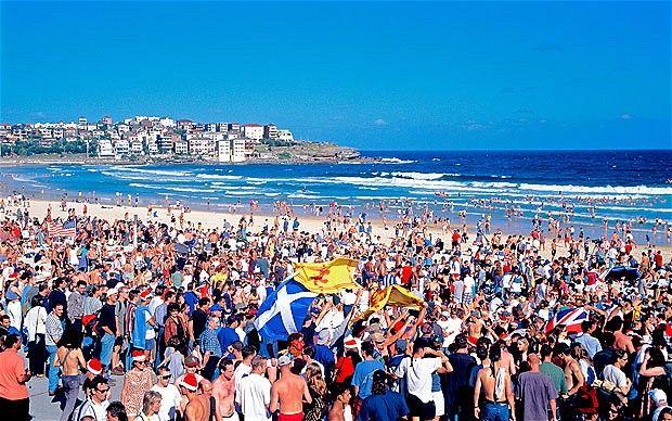 Sydney: A very Australian Christmas 'BONDI 2012'