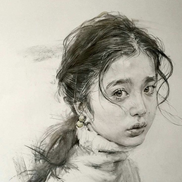 Wonderful portrait sketches by Lee instagram.com/rabbit.12.28