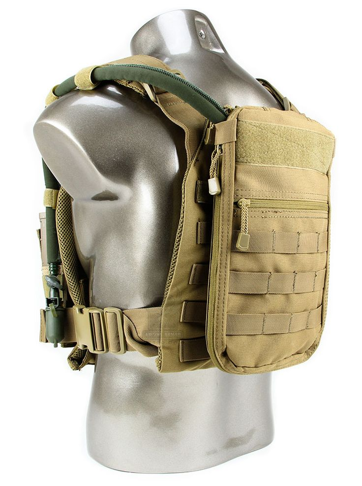Tidepool Hydration System (Stand-Alone & Plate Carrier Compatible) Coyote