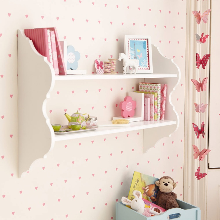 alice wall shelves this is really pretty and very versatile with two deep shelves and