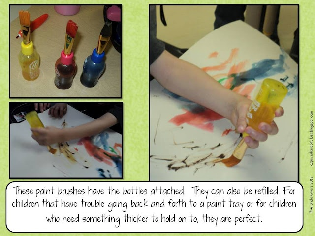 Adapted Art  -  Pinned by @PediaStaff – Please Visit http://ht.ly/63sNt for all our pediatric therapy pins