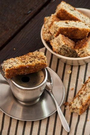 Ina Paarman Lemon Health Rusks with Poppy Seeds. Recipe no longer on the website so see comments below 4 the recipe.