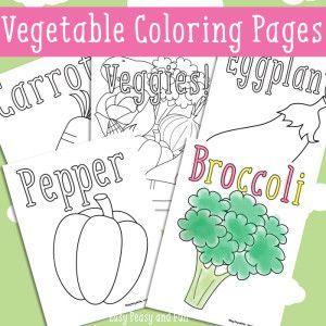 disegni gratuiti da stampare di vegetali