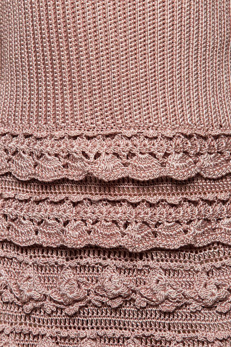 Vestido Crochet Couture Madrepérola - Vanessa Mont - vanessamontoro