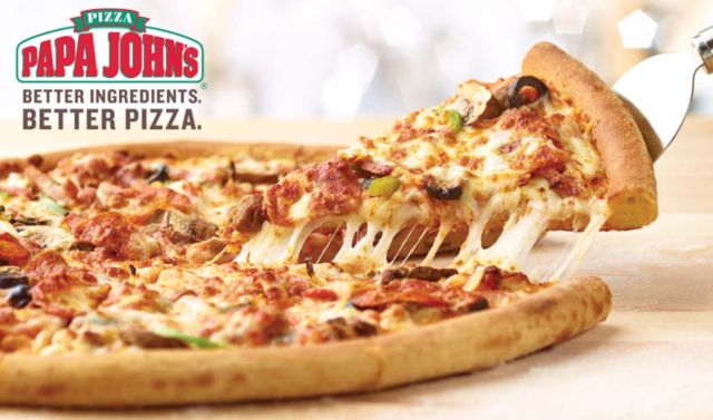 Attention all pizza lovers! Use your Abenity Discount Program and get 40% off any pizza at regular menu price when you order online at Papa John's! http://discounts.abenity.com/perks/offer/1:83733