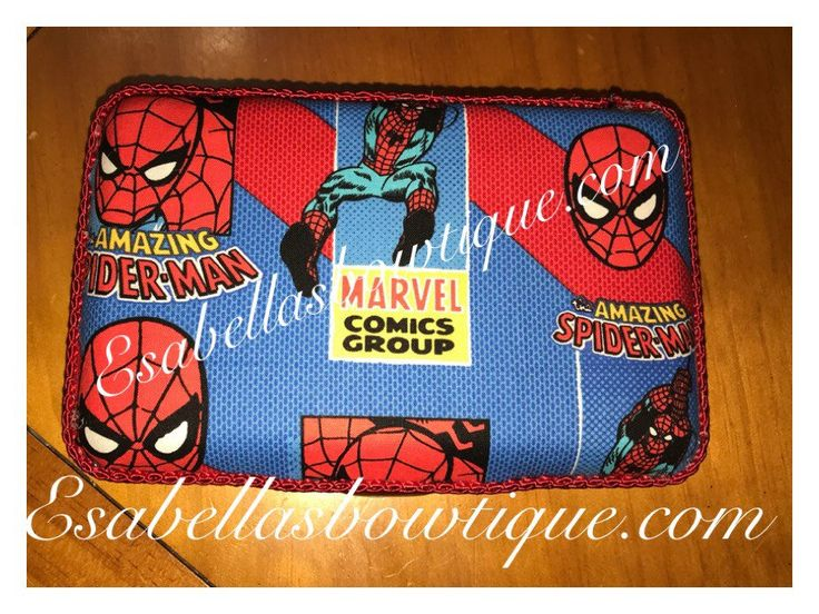 Spiderman custom pencil box;;custom pencil box;pencil boxes;personalized pencil boxes by EsabellasBowtique on Etsy