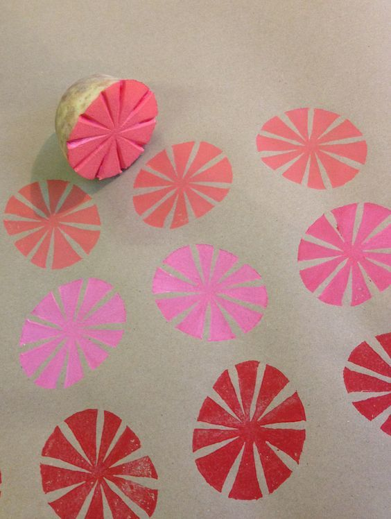 Learn how to potato print your own Christmas wrapping paper with Nick Morley aka Linocutboy in his Guardian article.
