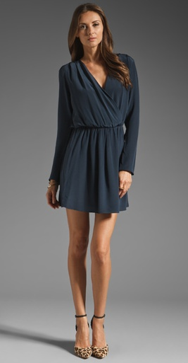 Deal Of The Week: Rory Beca Wrap Dress Reg $280: NOW $185 {34% Savings}. www.thestylehunterdiaries.blogspot.com for more information. Email lesley@thestylehunter.com if you are interested in purchasing.