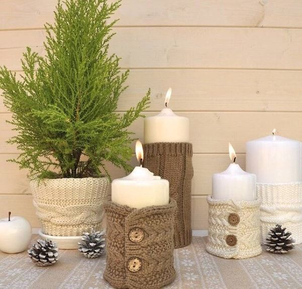 664 best decoraci n navide a images on pinterest new for Decoracion de velas