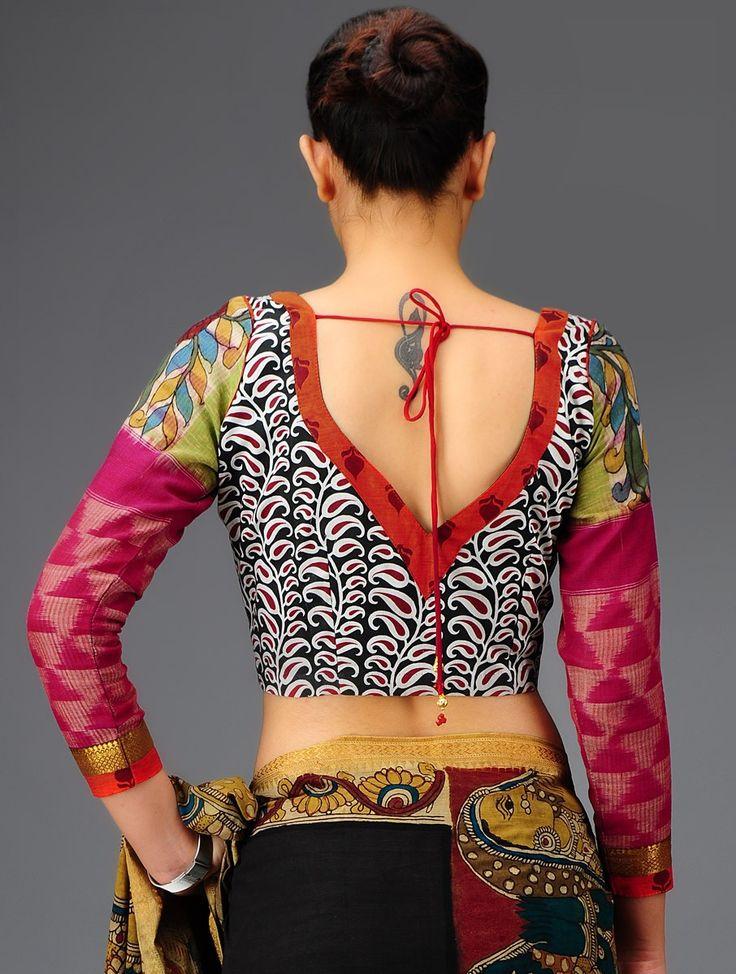 Angikam kalamkari blouse #textile #tradition
