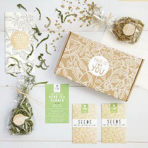 Grow Your Own Herb Tea Garden Seeds Kit