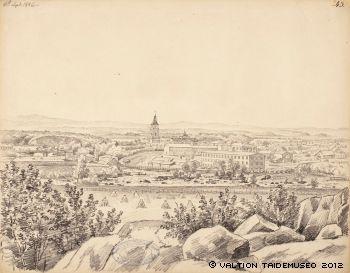 Magnus von Wright, Tampere, 1846