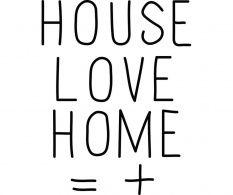 Sticker Love House
