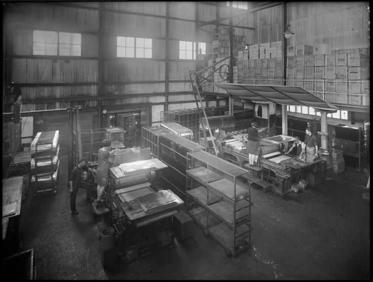 100601PD: Manufacturing bottle tops, Perth, 1929.  http://encore.slwa.wa.gov.au/iii/encore/record/C__Rb3473410__SFactories%20--%20Western%20Australia%20--%20Photographs.__P0%2C5__Orightresult__X3?lang=eng&suite=def