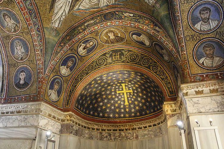 Ravenna, Cappella Arcivescovile o di Sant'Andrea, abside ( 495 )