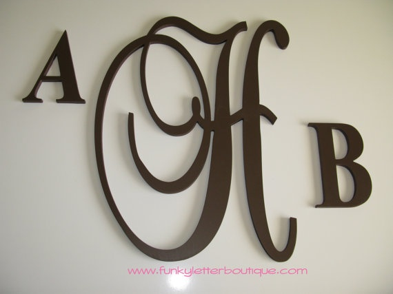 77 best images about wooden letters painted letters wall for Homemade wall letters