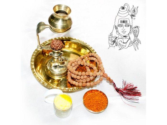Rudraksh Abhishek Set