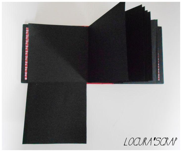 Locura'scrap - Blog dedicado al scrapbooking y manualidades : Paso a paso del álbum scrap con lomo