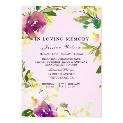 The 25+ best Funeral memory cards ideas on Pinterest Funeral - invitation for funeral ceremony