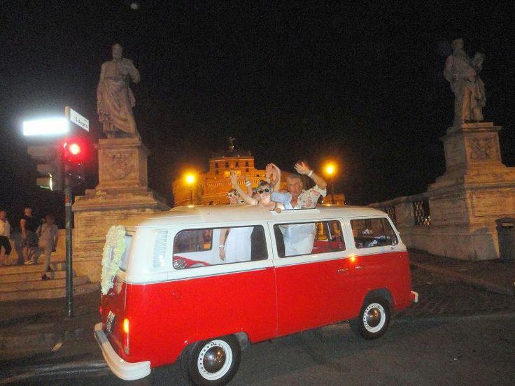 Rome tour by vintage car - #Rome #Tour #italyXP #travel #WeLoveItalyXP #volkswagen #kombibus