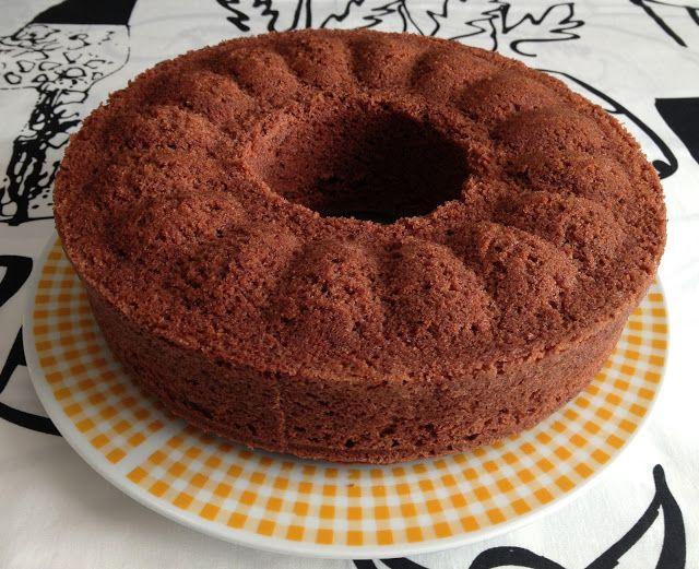 επινοώντας στην κουζίνα: Bundt Κέικ με σοκολάτα «φοντάν»
