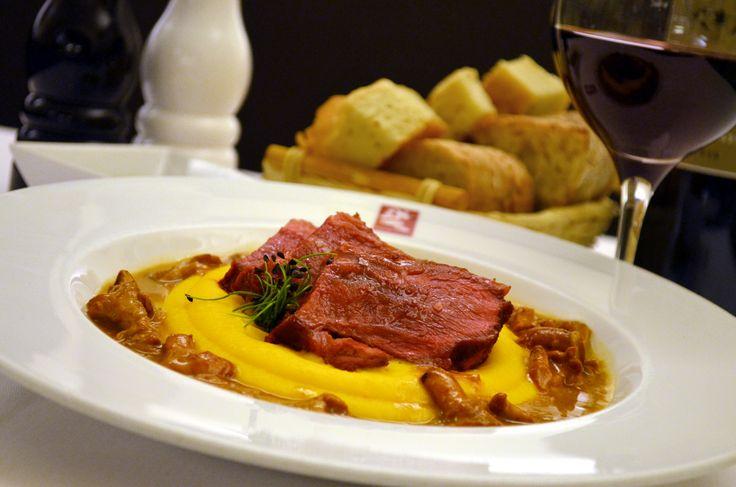 Restaurant Bresto - new menu 2017 - CHEEK OF VEAL