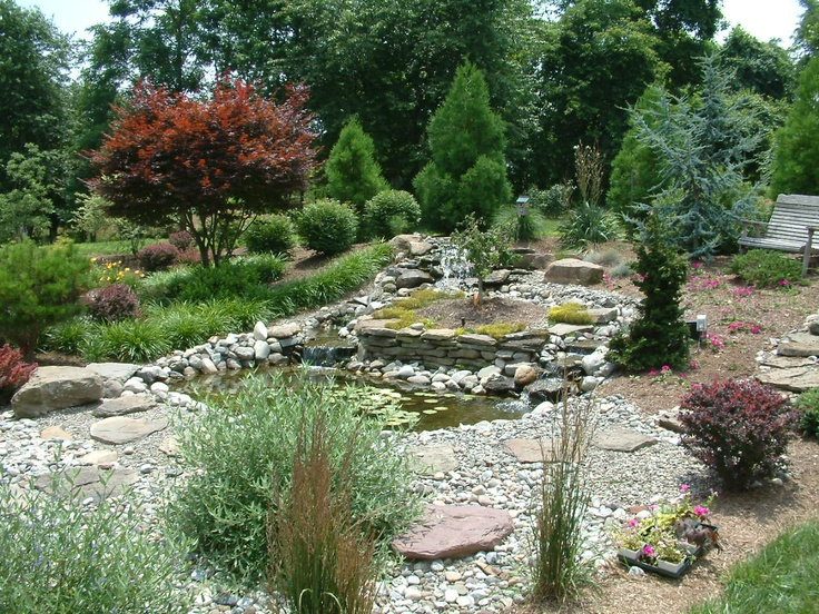 Backyard Ponds Maryland :  about Water Features on Pinterest  Ponds, Water Garden and Waterfalls