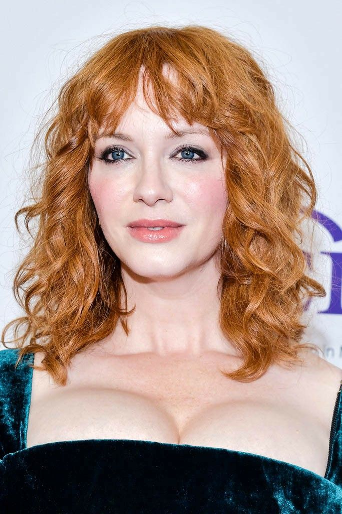 Pin By Otis Driftwood On Christina Hendricks In 2020 Hair Trends Fall Hair Haircuts With Bangs