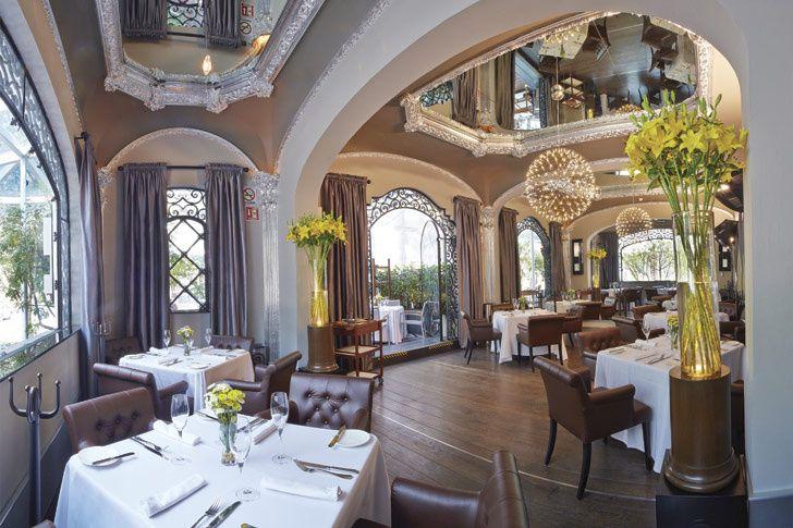 Restaurantes con toque francés.
