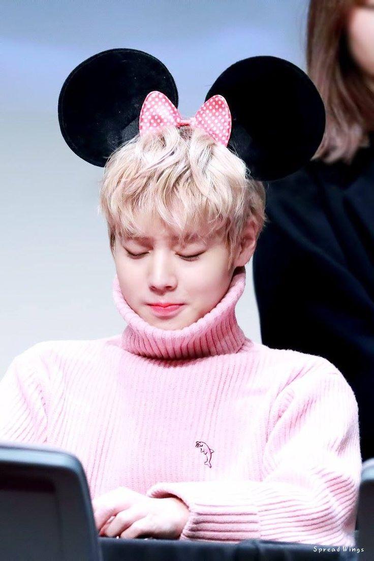 2017-11-17/18 Jihoon Pink Fansing♡