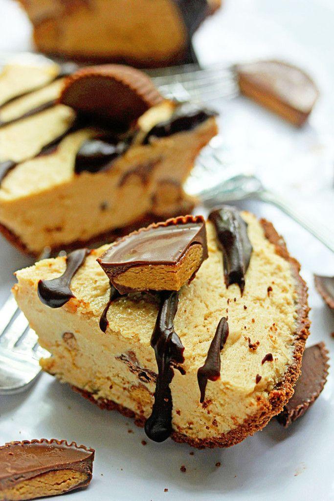 Frozen Peanut Butter Pie | Grandbaby Cakes