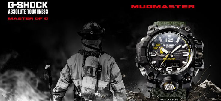 Relojes Casio G-Shock Mudmaster y Gulfmaster