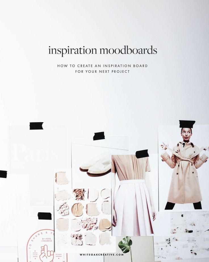 Step-by-step instructions on how to create a moodboard in photoshop; plus best practices for creating the best moodboards for your next design project.
