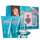 Curious Britney Spears Gift SetBritney Spears Curious är en livlig och sprudlande fruktig, blommig parfym.Lanserades: 2004Innehåll:Britney Spears Curious EdP 30mlBritney Spears Curious Body Lotion 50mlBritney Spears Curious Dusch Gele 50ml