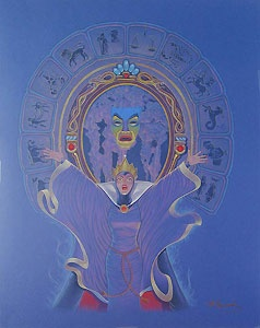 Snow White and the Seven Dwarfs - Magic Mirror - Original - Manny Hernandez - World-Wide-Art.com
