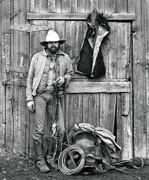 Jay Dusard's award-winning black and white portraits of working cowboys are timeless testaments to ranch life.
