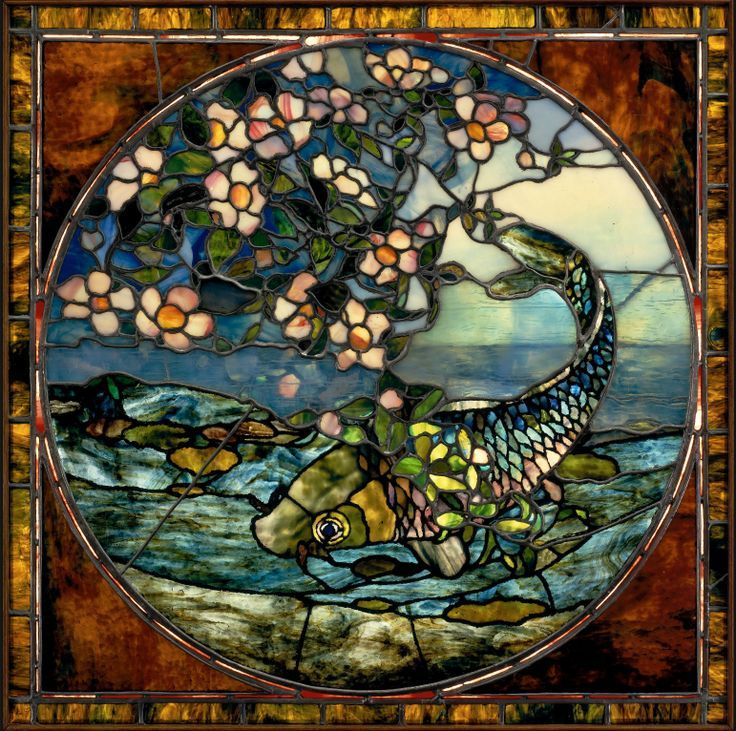John LaFarge Stained Glass | uploaded to pinterest