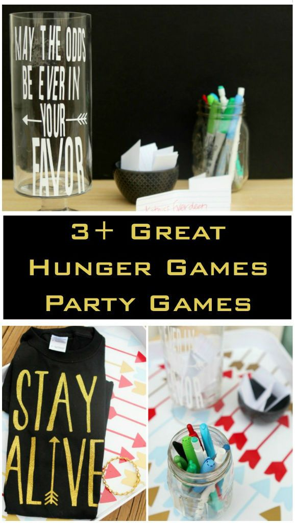 Three of the best Hunger Games games that are so easy to setup and almost free, including a great Hunger Games trivia printable game