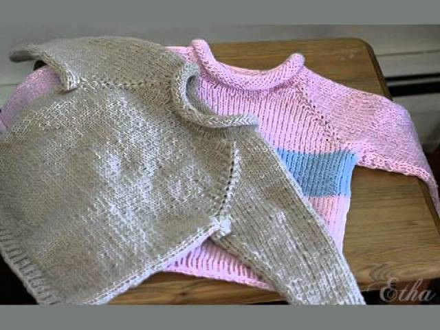 Easy Baby Sweater Knitting Patterns Free