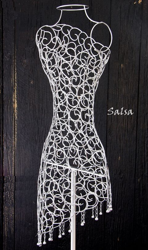 Wire Dress Mannequin For Closet Decor Corum Manor
