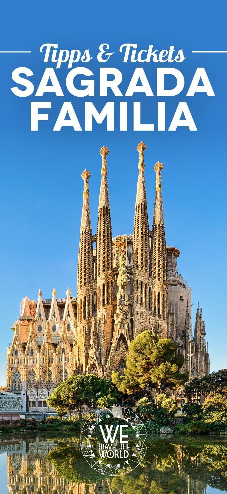 Sagrada Familia: Wir zeigen dir welches Ticket du für die Besichtigung der Sagrada Familia brauchst und geben dir Tipps für eine unvergessliche und entspannte Besichtigung.