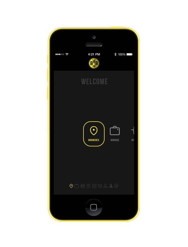Borussia Dortmund FC app