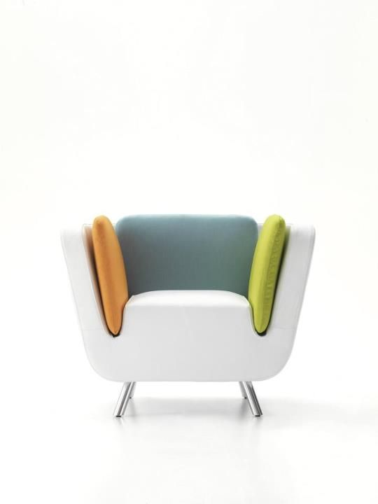 NOT Slow Chair and NOT Bouroullec! NOOK Lounge Chair by Karim Rashid.