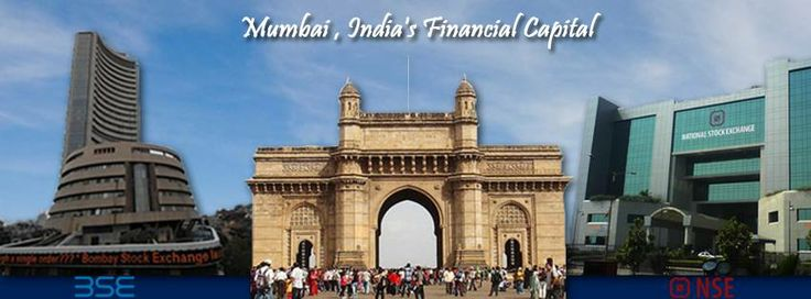 #Mumbai #Gateway to #IndiaInvesting : Headquarter of 2 largest Indian Stock Exchanges #Bse Bombay Stock Exchange #Nse National Stock Exchange are located in Mumbai