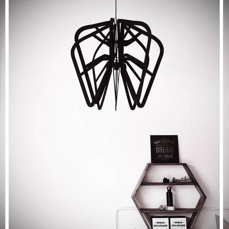 Светильник из фанеры на заказ. Made by Make. #светильник #свет #люстра #дизайн #декор #предметныйдизайн #лазернаярезка #ремонт #make_fabrication_studio #make_fabrication #decor #design #flacon #lasercut #productdesign by make_fabrication