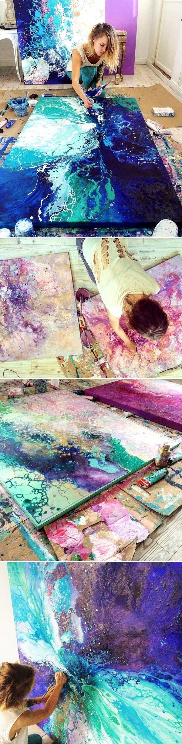 Необычные картины. картины, иссуство, Эмма Линдстрем, длиннопост
