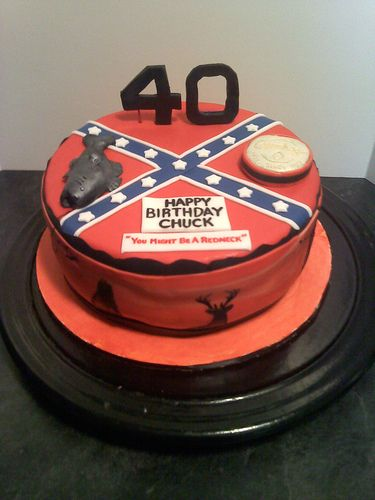 """You might be a Redneck"" Cake (not that there's anything wrong with being a Redneck)"